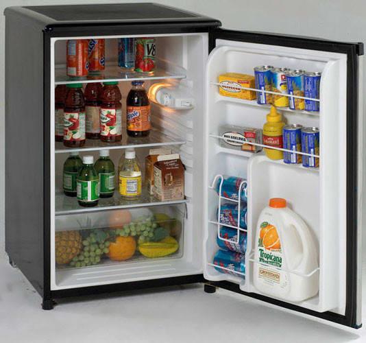 Avanti Ar4596ss 4 5 Cu Ft Compact Refrigerator With