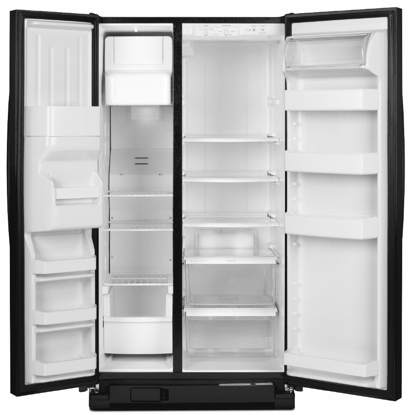 Amana Asd2575brb 25 5 Cu Ft Side By Side Refrigerator