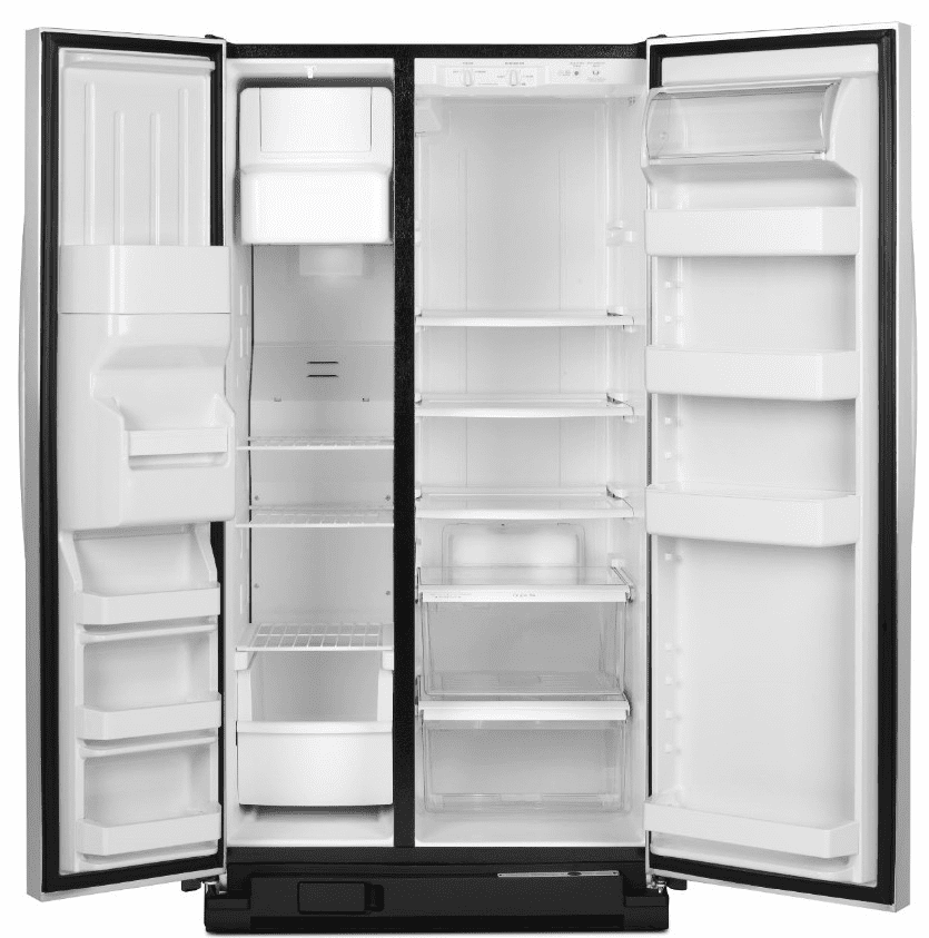 Amana Asd2575brs 25 5 Cu Ft Side By Side Refrigerator