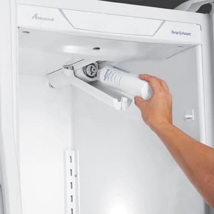 Amana Asd2624hew 25 6 Cu Ft Side By Side Refrigerator