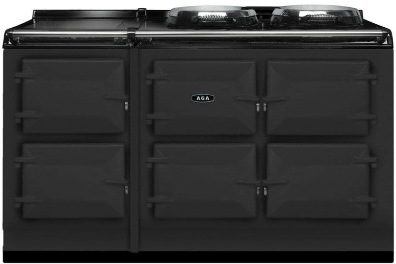 Aga Atc5pwt 48 Inch Cast Iron Electric Range With 5 Large