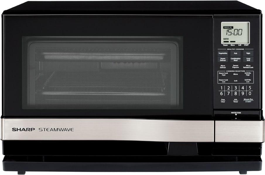 Sharp Ax1100s 1 0 Cu Ft Countertop Steamwave Microwave