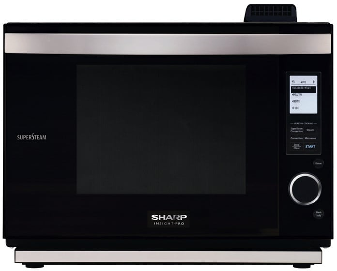 Sharp Ax1200k 22 Inch Supersteam Oven With 1 1 Cu Ft