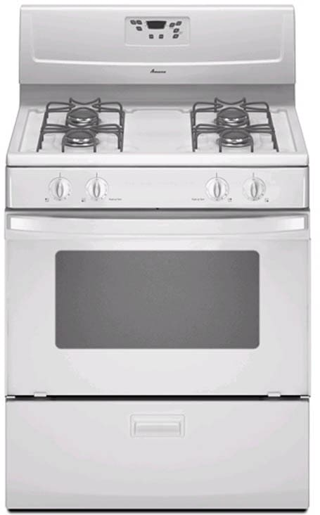 Amana Agr4433xds 30 Inch Freestanding Gas Range With 4 4
