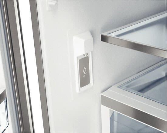 Internal Door Hinges >> Bosch B22CT80SNS 36 Inch Freestanding French Door Refrigerator with 21.8 cu. ft. Capacity, 5 ...
