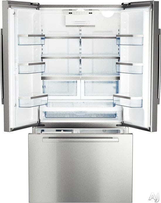 Bosch B22ct80sns 36 Inch Freestanding French Door Refrigerator With 21 8 Cu Ft Capacity 5