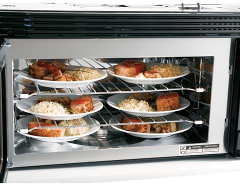 Ge Jvm1790sk 1 7 Cu Ft Over The Range Microwave Oven