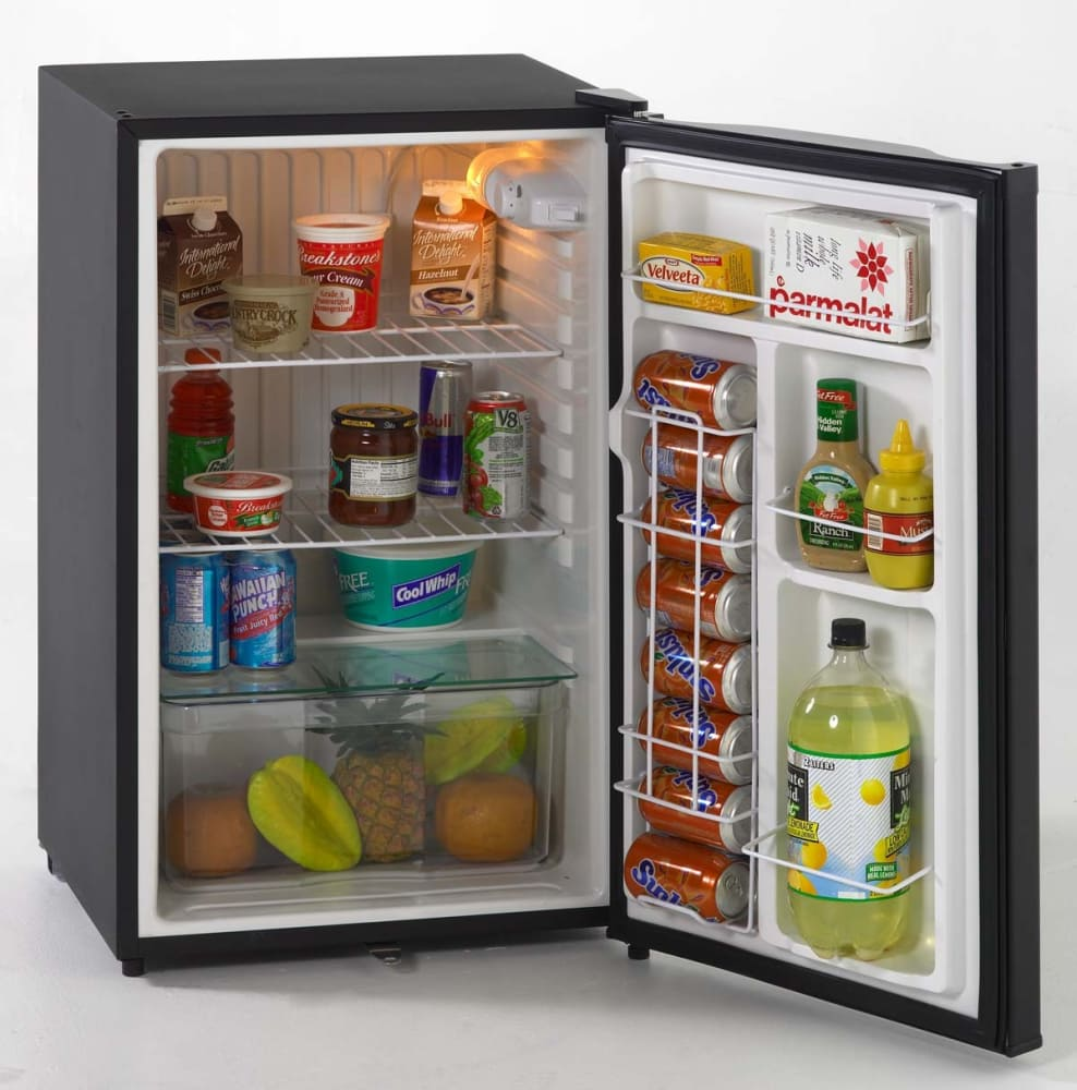 avanti bca4422bl 4.4 cu. ft. compact refrigerator with beverage