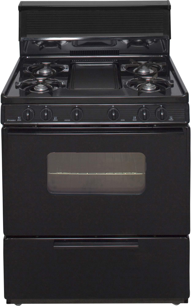 Premier Bfk5s9bp 30 Inch Freestanding Gas Range With 5