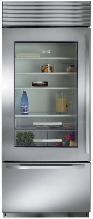 Sub Zero Bi30ugsth 30 Inch Built In Bottom Freezer