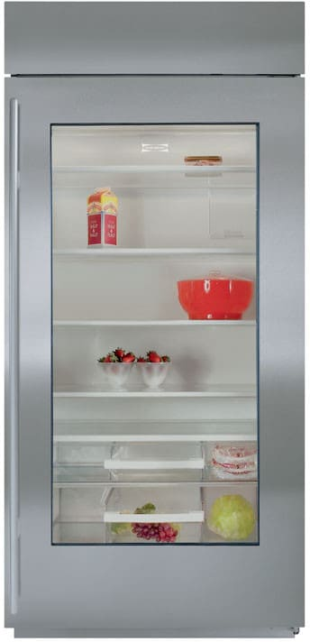 Sub Zero Bi36rgolh 36 Inch Built In Full Refrigerator With