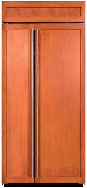 K And J Auto >> Sub-Zero BI36SO 36 Inch Built-in Side-by-Side Refrigerator ...