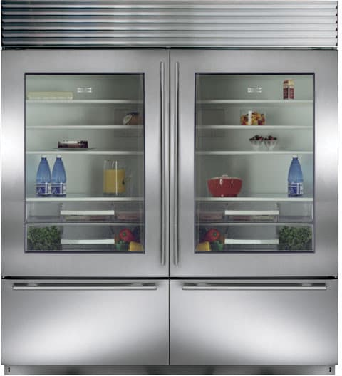 Sub Zero Bi36ugsph 36 Inch Built In Bottom Freezer Refrigerator With
