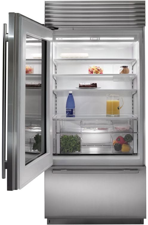 Sub Zero Bi36ugo 36 Inch Built In Bottom Freezer