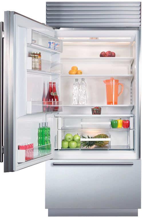Sub Zero Bi36usth 36 Inch Built In Bottom Freezer