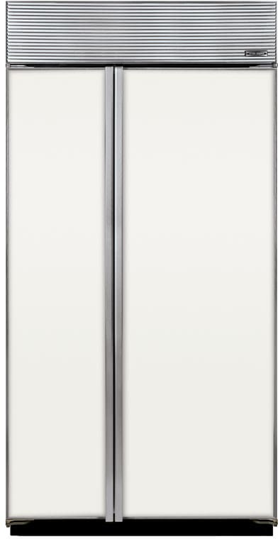 ... Sub Zero BI42SF   Optional White Enamel Front Panels ...
