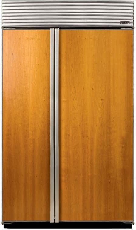 Sub Zero Bi48sf 48 Inch Built In Side By Side Refrigerator