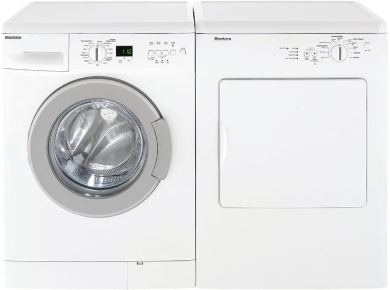 Blomberg Dv16540 24 Inch Front Load Electric Dryer With 3