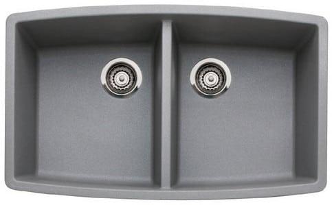 Blanco 440071x 33 Inch Undermount Double Bowl Granite Sink