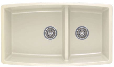 Blanco 441310x 33 Inch Undermount Double Bowl Granite Sink