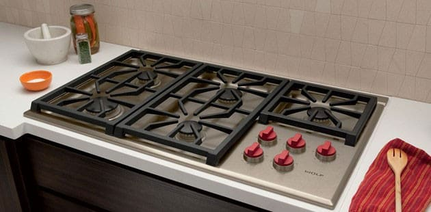 36 Inch Professional Gas Cooktop