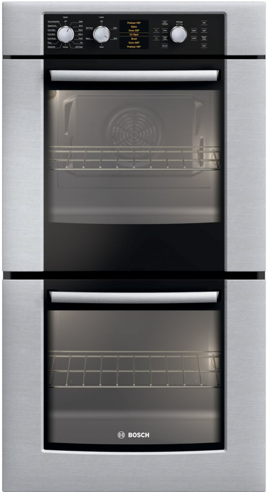 Bosch Hbn5650uc 27 Inch Double Electric Wall Oven With
