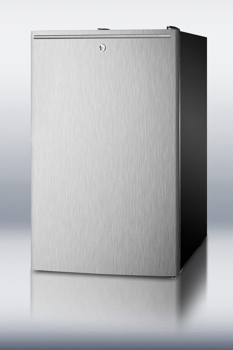 Accucold Cm421blx 4 1 Cu Ft Compact Refrigerator With 20