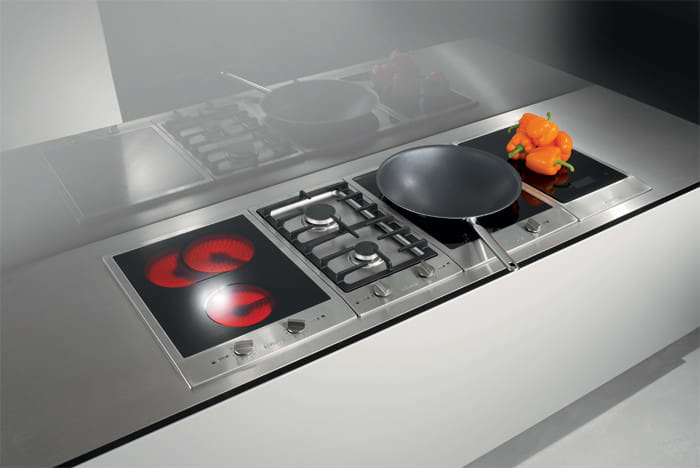 Miele Cs1012 12 Inch Double Gas Cooktop With Stainless