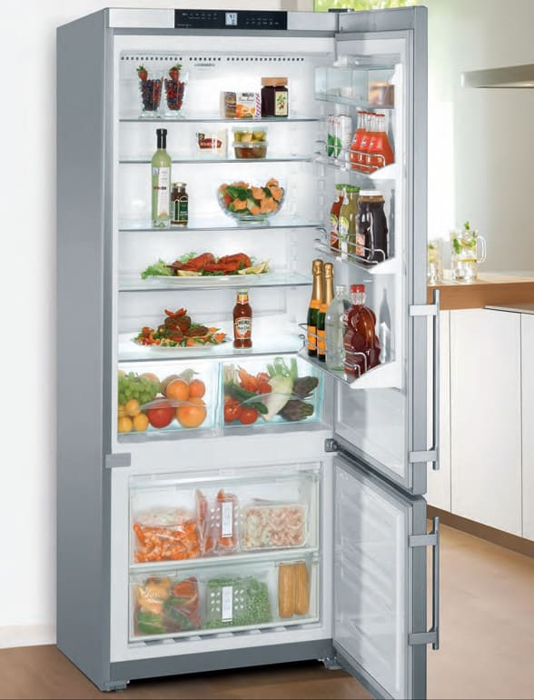 Liebherr CS1400 30 Inch Counter Depth Bottom-Freezer ...