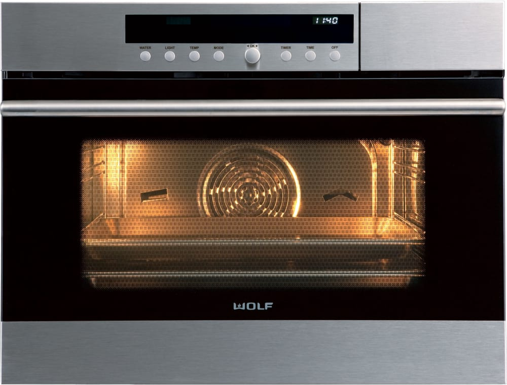 Oven Wolf E Series Cso24testh Halogen Interior Lighting