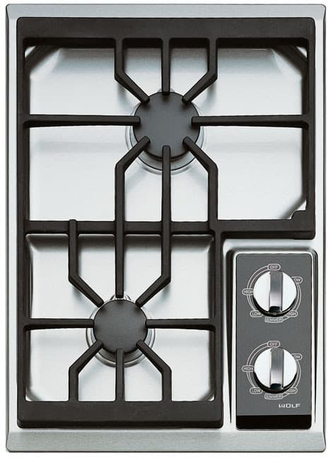 Wolf Ct15gs 15 Inch Gas Cooktop