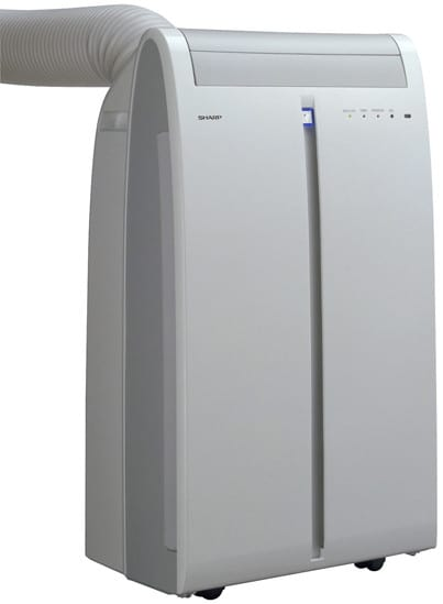 Sharp Cvp10mx 9 500 Btu Portable Air Conditioner With Full