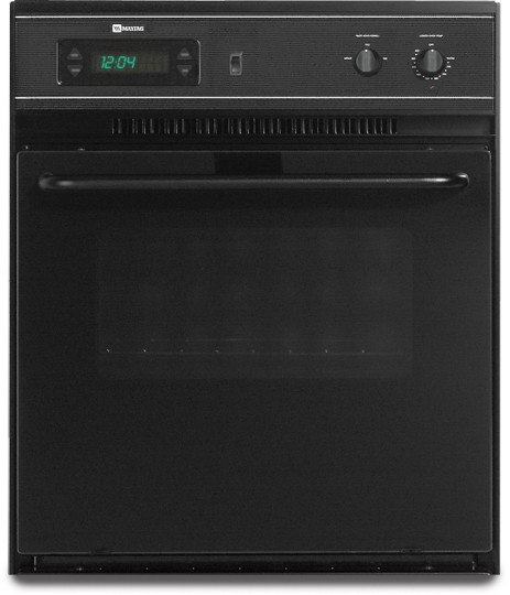 Maytag Cwe4100acb 24 Inch Single Electric Wall Oven With 2