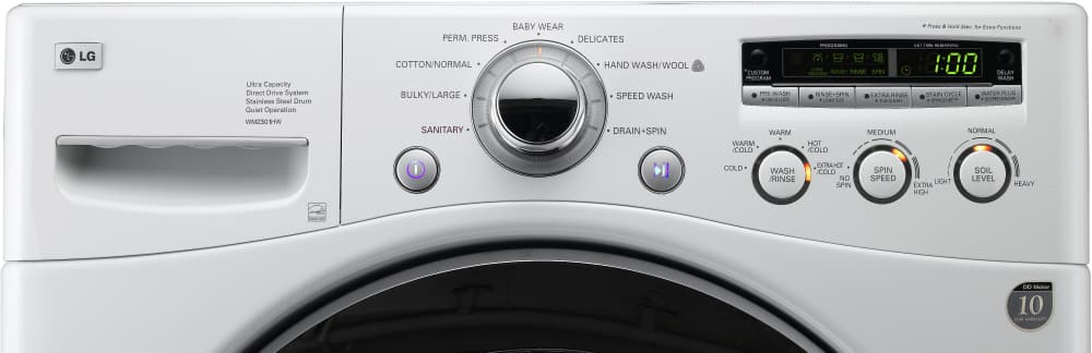 lg washing machine model wm2301h