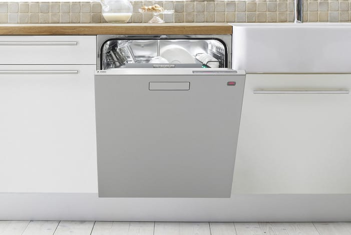 Asko D5624XXLS Semi-Integrated Dishwasher with 14 Place Settings, 9 ...