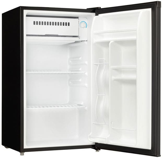 Danby DCR033A1BDB 3.3 cu. ft. Compact Refrigerator with 2 ... on