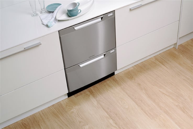 Fisher Amp Paykel Dd24ddftx6 Semi Integrated Double Drawer