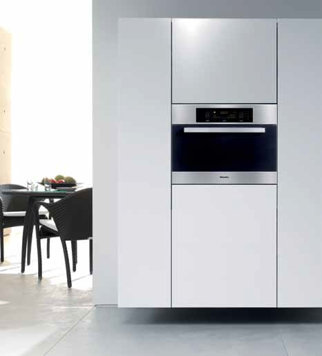 how to use miele combined steam oven