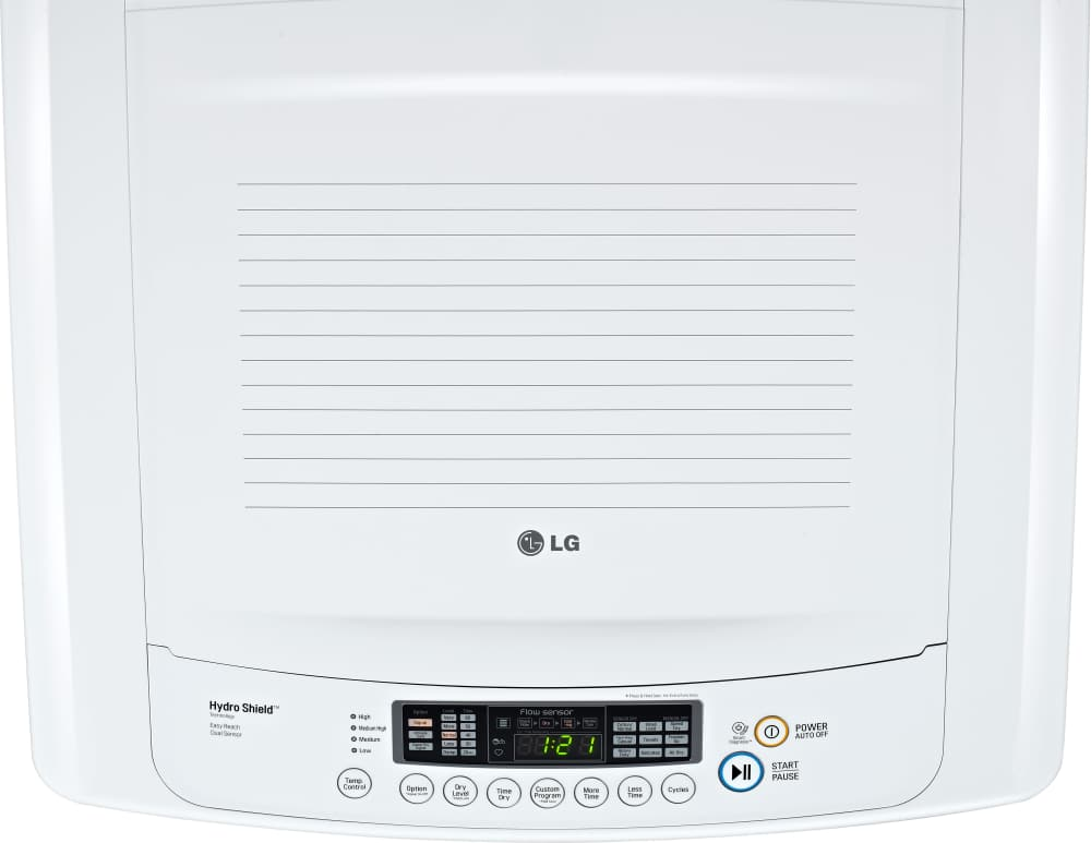 Lg Dlg1002w 27 Inch Front Load Gas Dryer With 7 3 Cu Ft