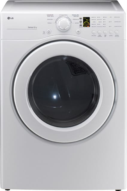 Lg Dlg2141w 27 Inch Front Load Gas Dryer With 7 1 Cu Ft