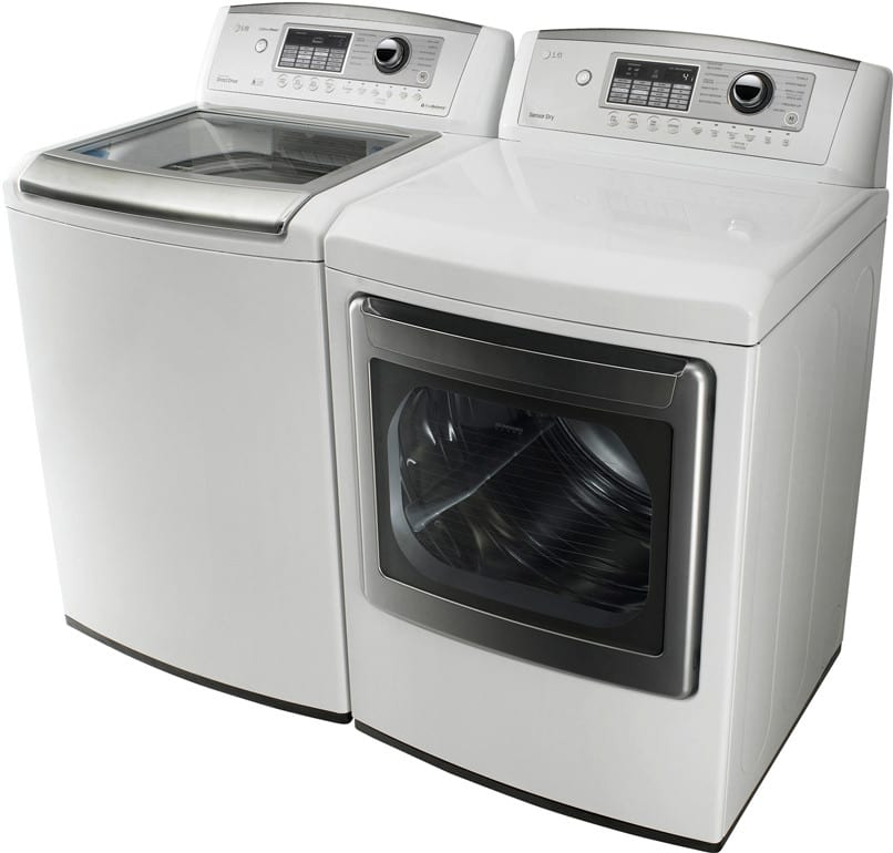 Lg Wt5001cw 27 Inch Top Load Washer With 4 5 Cu Ft Ultra