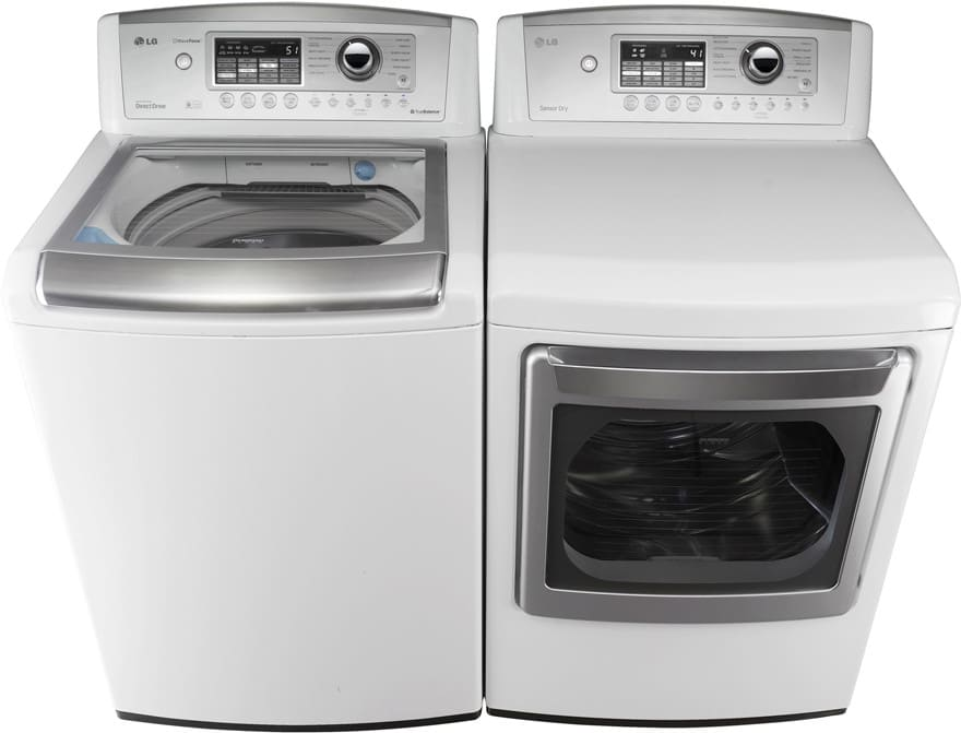 Lg Wt5001cw Shown With Matching Dryer