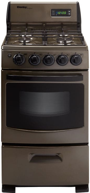 Danby Dr299blsglp 20 Inch Freestanding Gas Range With 2 62