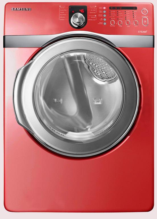 Samsung Dv410aer 27 Inch Electric Steam Dryer With 7 4 Cu