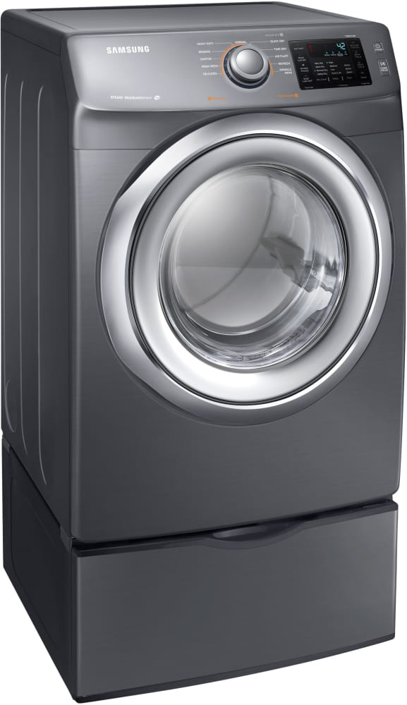 Samsung DVHEP Inch Electric Dryer With Steam Technology - Abt washers