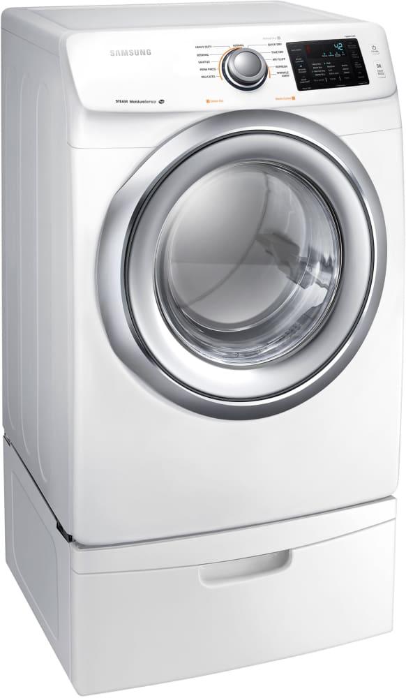 Samsung Dv42h5200gw 27 Inch Gas Dryer With Steam Wrinkle