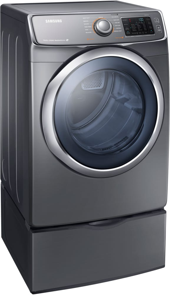 Samsung Dv42h5600gp 27 Inch Front Load Gas Dryer With 7 5
