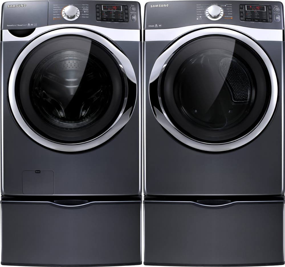 samsung dv455evgsgr laundry pair