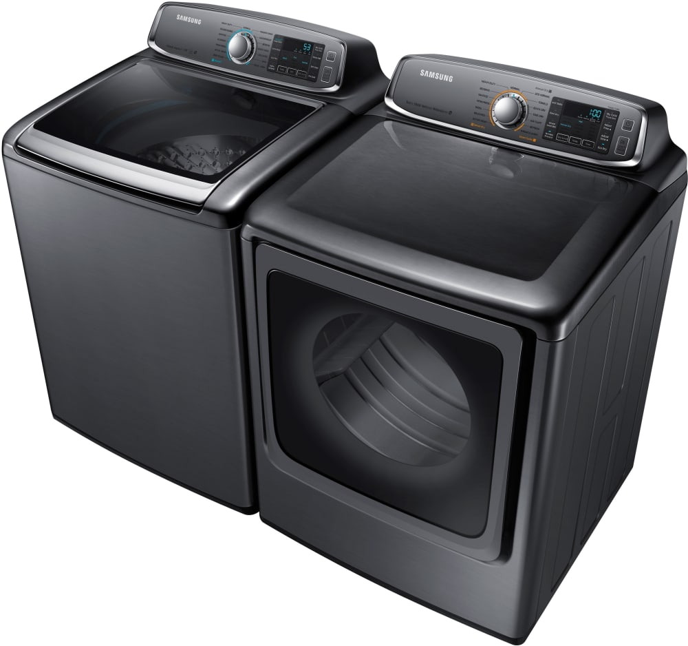 Samsung Dv56h9000gp 30 Inch 9 5 Cu Ft Gas Dryer With 15