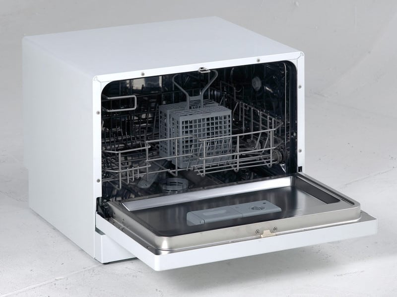 Avanti Dw6w 22 Inch Portable Countertop Dishwasher With 6